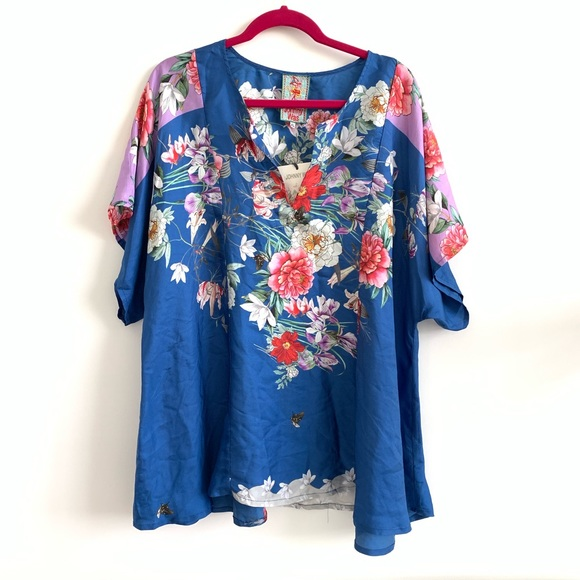 690391c1dbaa6 Johnny Was • new with tags silk top